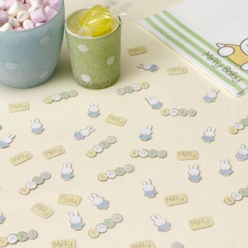 Baby Miffy Table Confetti